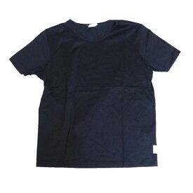 【中古】HERMES クルーネック Tシャツ カットソー ブラック サイズ:SM 【180120】(エルメス)