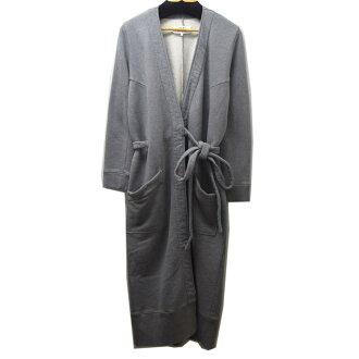 MM6 2018AW sweat shirt gown coat 杢 gray size: S (Martin Margiela M M six)