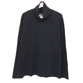 【中古】YOHJI YAMAMOTO pour homme タートルネックカットソー ブラック サイズ:4 【310120】(ヨウジヤマモトプールオム)