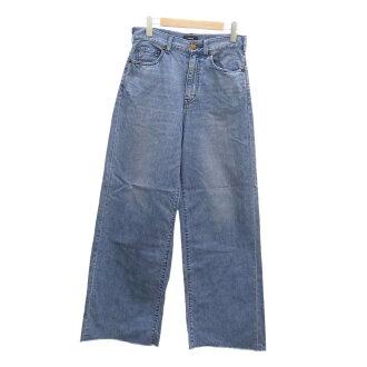 Theory cut-off wide denim underwear 2019SS indigo size: W25 (theory)