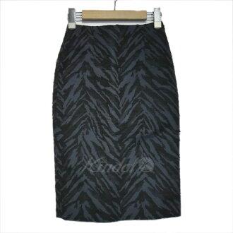 BeautifulPeople whole pattern tight skirt navy size: 34 (beautiful people)