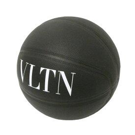 【中古】VALENTINO×SPALDING 18SSロゴバスケットボール ブラック サイズ:- 【060220】(ヴァレンチノ×スポルディング)