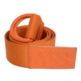 【中古】Y-3 LOGO BELT ロゴ リングベルト オレンジ サイズ:M(125cm) 【080220】(ワイスリー)