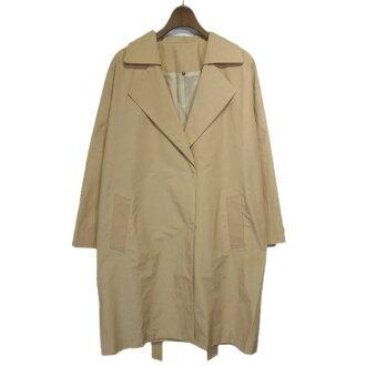 DES PRES grosgrain 2WAY long coat pink size: 36 (Deprez)