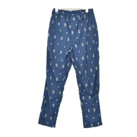 【中古】THE NORTH FACE PURPLE LABEL Paisley Embroidery Shirred Waist Pants 総柄パンツ ネイビー サイズ:30 【180220】(ザノースフェイス パープルレーベル)