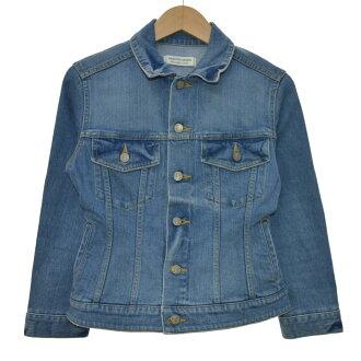 beautiful people 17SS selvage stretchdenim couture bluson denim jacket indigo size: 34 (beautiful people)