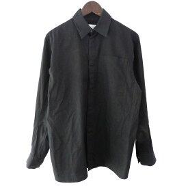 【中古】KIKO KOSTADINOV 17AW「CLASSLESS」スナップボタンシャツ ブラック サイズ:XS 【040320】(キコ コスタディノフ)