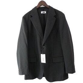 【中古】H BEAUTY&YOUTHノッチドラペル2Bジャケット ブラック サイズ:L 【6月1日見直し】