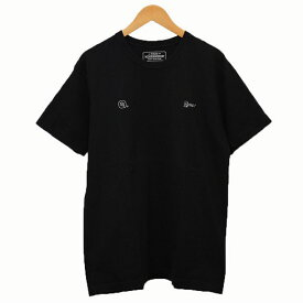 【中古】WTAPS × NEIGHBOR HOOD 香港限定 Hong Kong Anniversary プリントTシャツ ブラック サイズ:L 【170320】(ダブルタップス ネイバーフッド)
