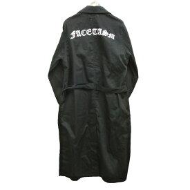 【中古】FACETASM 20SSショップコート ブラック サイズ:5 【210320】(ファセッタズム)