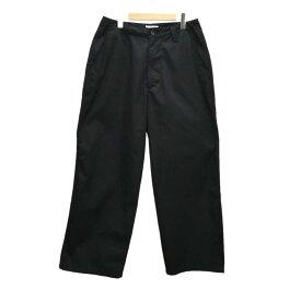 【中古】LUI'S ワイドチノパン ブラック サイズ:M 【220320】(ルイス)