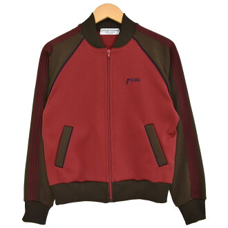 robe de chambre COMME des GARCONS truck jacket AD2000 red X brown size: - (ローブドシャンブルコムデギャルソン)