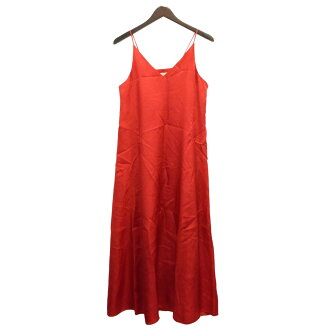 AEWEN MATOPH camisole dress red size: 38 (イウエンマトフ)