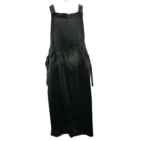 【中古】FILL THE BILLfor UNITED ARROWS サロペットスカート ブラック サイズ:FREE 【6月1日見直し】