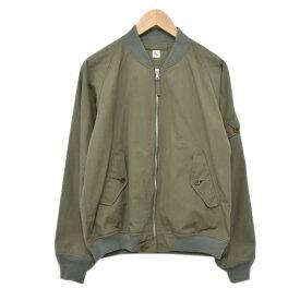 【中古】KAPTAIN SUNSHINE17SS ボンバージャケット カーキ サイズ:36 【6月1日見直し】