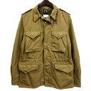 【中古】ASPESI M-65中綿フィールドジャケット ベージュ サイズ:S 【080420】(アスペジ)