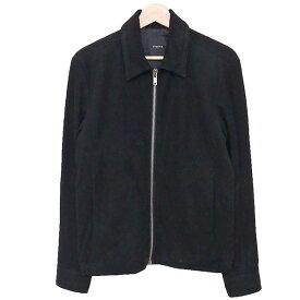 【中古】Theory レザージャケット 山羊革 ブラック サイズ:XS 【140420】(セオリー)