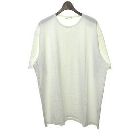 【中古】LAD MUSICIAN オーバーサイズTシャツ ホワイト サイズ:46 【160420】(ラッドミュージシャン)
