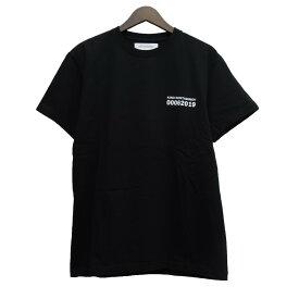 【中古】kiko kostadinov19SS プリントTシャツ ブラック サイズ:M 【6月4日見直し】