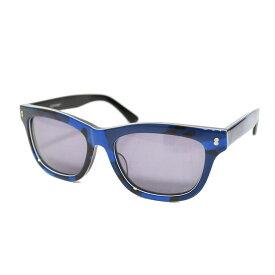 【中古】SOPHNET. ×金子眼鏡 カモフラージュ柄 サングラス ブルー 【270420】(ソフネット)