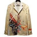 【中古】HERON PRESTON 20SS TAILORED BLAZER ROBERT NAVA テイラードジャケット ベージュ サイズ:48 【020520】(…