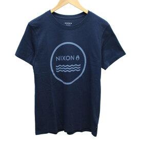 【中古】nixon プリント Tシャツ ネイビー他 サイズ:S 【060520】(ニクソン)