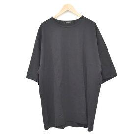 【中古】LAD MUSICIAN 19SS SUPER BIG T-SHIRT Tシャツ ブラック サイズ:Free 【110520】(ラッドミュージシャン)