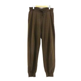 【中古】AURALEE×New Balance 2019SS WHOLEGARMENT Pants ブラウン サイズ:L 【150520】(オーラリー×ニューバランス)