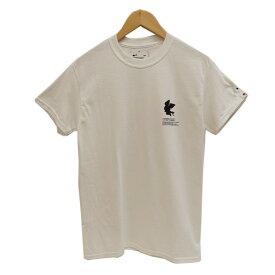 【中古】FRAGMENT DESIGN & POKEMON THUNDERBOLT PROJECT プリントTシャツ ホワイト サイズ:S 【210520】(フラグメント・デザイン・ポケモン)