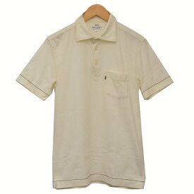 【中古】Paul Smith コットンポロシャツ ポロシャツ ベージュ サイズ:M 【260520】(ポールスミス)