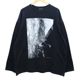 【中古】LAD MUSICIAN PHOTO BY YUICHI KURODA ビッグTシャツ ブラック、ホワイト他 サイズ:− 【240620】(ラッドミュージシャン)