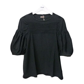 【中古】KAPITALボーダータックTシャツ ブラック サイズ:0 【1月25日見直し】
