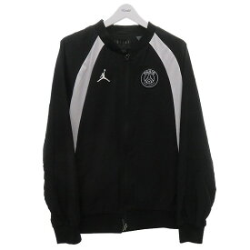 【中古】NIKE 【AIR JORDAN×PSG】Full Zip Jacket ブラック 【180720】(ナイキ)