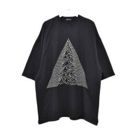 【中古】LAD MUSICIAN HEAVY T-CLOTH SUPER BIG T-SHIRTS プリントTシャツ ブラック サイズ:- 【200720】(ラッドミュージシャン)