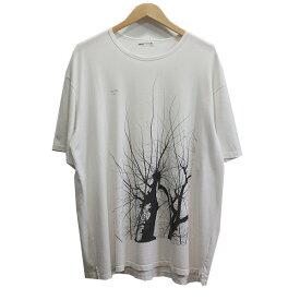 【中古】LAD MUSICIAN TREE PRINT BIG T-SHIRT Tシャツ ホワイト サイズ:44 【260720】(ラッドミュージシャン)