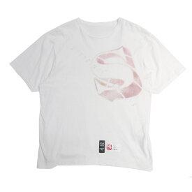 【中古】SHANTii×FPAR POPUP限定 シルクスクリーン 半袖Tシャツ ホワイト サイズ:XL 【100820】(シャンティ×フォーティーパーセント アゲインストライツ)