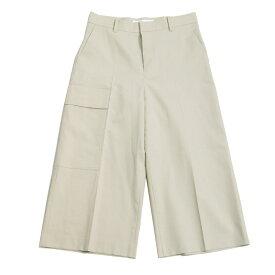 【中古】LE CIEL BLEU2020AW Utility Shorts ユーティリティショーツ ハーフパンツ ベージュ サイズ:38 【10月19日見直し】