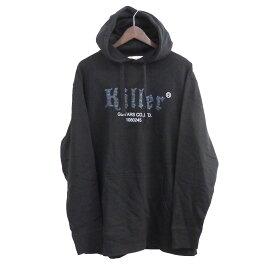【中古】DISCOVERED 20AW「Killer pull parka」 プルオーバーパーカー ブラック サイズ:3 【110920】(ディスカバード)