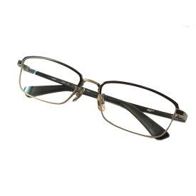 【中古】999.9 スクエア型 眼鏡 ブラック サイズ:54□17-137 【110920】(フォーナインズ)