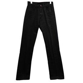 【中古】CELINE 20SS フレアジーンズ/ブラックデニム ワイドデニムパンツ ブラック サイズ:27 【160920】(セリーヌ)