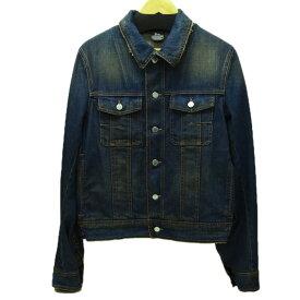 【中古】Dior Homme ダストウォッシュデニムジャケット 2005SS インディゴ サイズ:46 【180920】(ディオールオム)