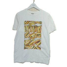 【中古】Terry Richardson×Tsuyoshi Noguchi for BEAUTY&YOUTH フォトプリントTシャツ ホワイト サイズ:M 【260920】(テリーリチャードソン×ツヨシノグチフォーユナイテッドアローズ)