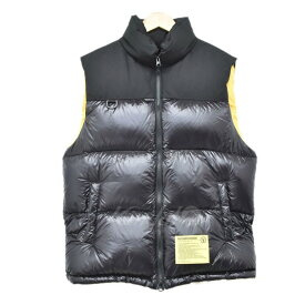 【中古】NEIGHBOR HOOD18AW TEAM.DOWN N-VEST ベスト ブラック サイズ:S