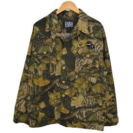 【中古】ELVIRA リアルツリー カモ ミリタリー ジャケット ブラウン サイズ:XL 【091020】(エルビラ)
