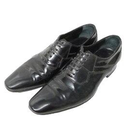 【中古】Dior Homme 08AW レザースニーカー ブラック サイズ:40(26cm) 【151020】(ディオールオム)