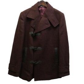 【中古】Vivienne Westwood MAN ウールコート ボルドー サイズ:44 【231020】(ヴィヴィアンウエストウッドマン)