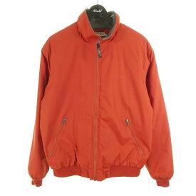 【中古】L.L.Bean WARM UP JACKET ジッパージャケット オレンジ サイズ:S REG 【271020】(エルエルビーン)