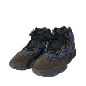 【中古】adidas originals by Kanye West「FY4269」 Yeezy 500 High Tyrian イージー500ハイティリアン ブラウン×ブルー×ブラック サイズ:27.5cm 【8月23日見直し】