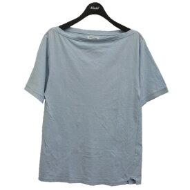 【中古】FUMIKA UCHIDA オーバーショルダーTシャツ ブルー サイズ:M 【181120】(フミカ ウチダ)