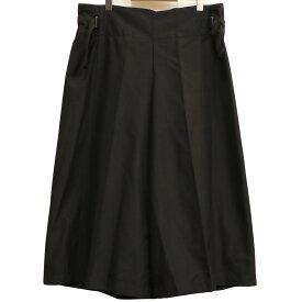 【中古】me ISSEY MIYAKE 19AW サイドベルト袴ワイドパンツ ブラック サイズ:Free(〜100cm) 【021220】(ミーイッセイミヤケ)